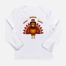 Gobble Gobble Turkey Long Sleeve Infant T-Shirt
