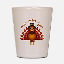 Gobble Gobble Turkey Shot Glass