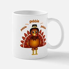 Gobble Gobble Turkey Mug