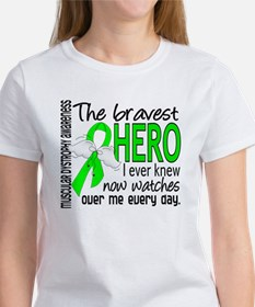 Bravest Hero I Knew Muscular Dystrophy Women's T-S