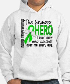 Bravest Hero I Knew Muscular Dystrophy Jumper Hoody