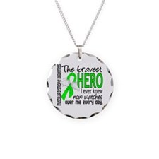 Bravest Hero I Knew Muscular Dystrophy Necklace Ci