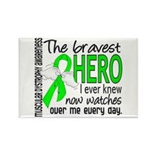 Bravest Hero I Knew Muscular Dystrophy Rectangle M