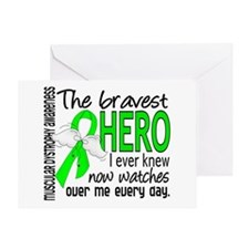Bravest Hero I Knew Muscular Dystrophy Greeting Ca