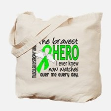 Bravest Hero I Knew Muscular Dystrophy Tote Bag