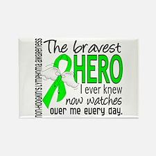 Bravest Hero I Knew Non-Hodgkin's Lymphoma Rectang