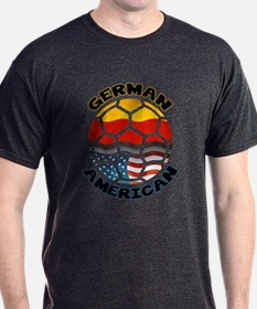 German American Football Soccer T-Shirt