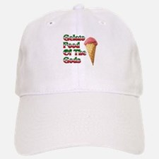 Gelato Food Of The Gods Baseball Baseball Cap