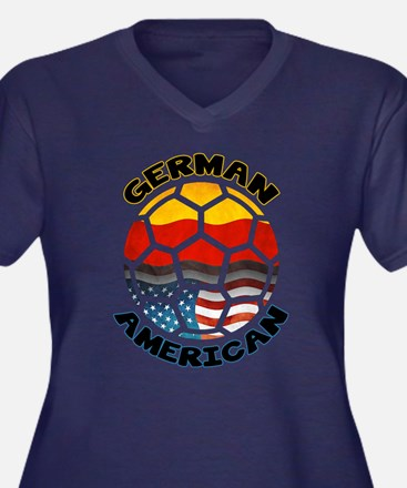 German American Football Soccer Women's Plus Size