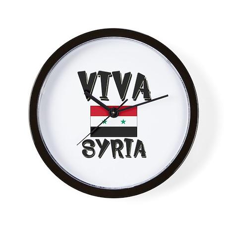 Flag of Syria Wall Clock