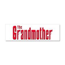 The Grandmother Car Magnet 10 x 3