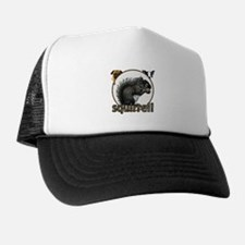 Squirrel and dogs Trucker Hat