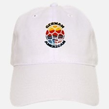 German American Football Soccer Baseball Baseball Cap