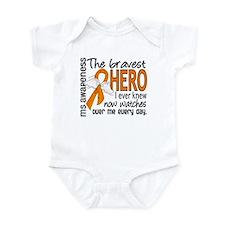 Bravest Hero I Knew MS Infant Bodysuit