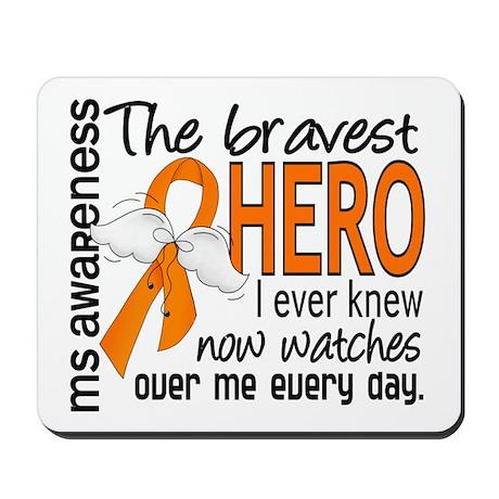 Bravest Hero I Knew MS Mousepad