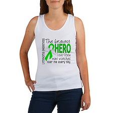 Bravest Hero I Knew Lymphoma Women's Tank Top