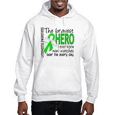 Bravest Hero I Knew Lymphoma Hoodie