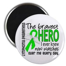 Bravest Hero I Knew Lymphoma Magnet