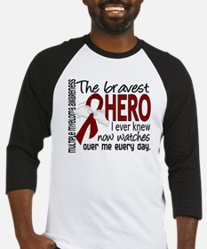 Bravest Hero I Knew Multiple Myeloma Baseball Jers