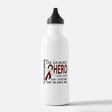 Bravest Hero I Knew Multiple Myeloma Water Bottle