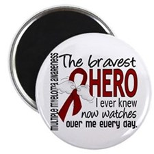 Bravest Hero I Knew Multiple Myeloma Magnet