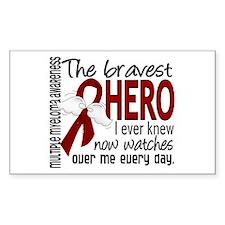 Bravest Hero I Knew Multiple Myeloma Decal