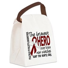 Bravest Hero I Knew Multiple Myeloma Canvas Lunch