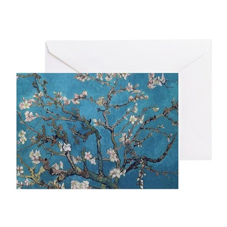 Blossoming Almond Tree 1890 Greeting Cards (Pk of