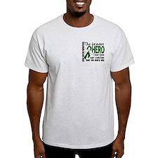 Bravest Hero I Knew Liver Cancer T-Shirt