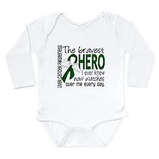 Bravest Hero I Knew Liver Cancer Long Sleeve Infan