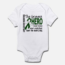 Bravest Hero I Knew Liver Cancer Infant Bodysuit