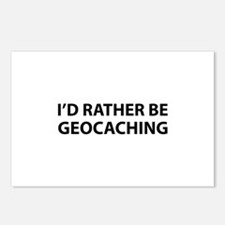 I'd Rather Be Geocaching Postcards (Package of 8)