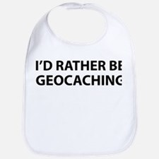 I'd Rather Be Geocaching Bib