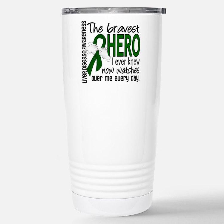 Bravest Hero I Knew Liver Disease Travel Mug