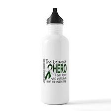 Bravest Hero I Knew Liver Disease Water Bottle