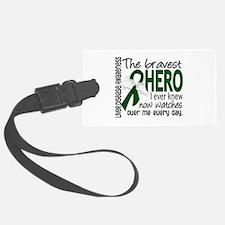 Bravest Hero I Knew Liver Disease Luggage Tag