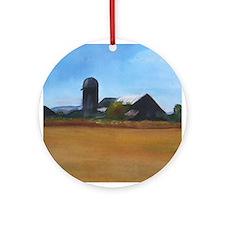 Barton Farm Ornament (Round)