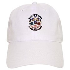 Scottish American Soccer Football Baseball Baseball Cap