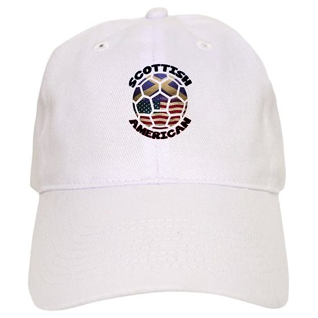 Scottish American Soccer Football Cap