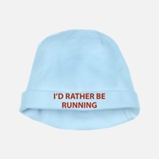 I'd Rather Be Running baby hat