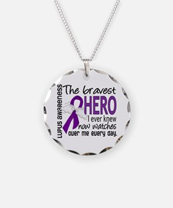 Bravest Hero I Knew Lupus Necklace