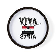 Viva Syria Wall Clock