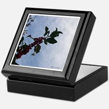 Holly Berries Keepsake Box