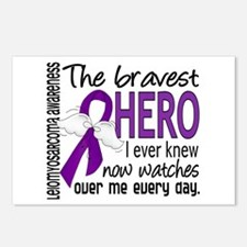 Bravest Hero I Knew Leiomyosarcoma Postcards (Pack
