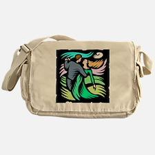 Night Dancing Messenger Bag