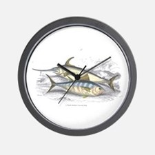Bonito and Swordfish Fish Wall Clock