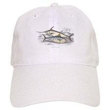 Bonito and Swordfish Fish Baseball Cap