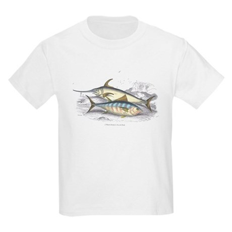 Bonito and Swordfish Fish Kids T-Shirt