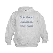 Color Guard Navy Blue Hoodie
