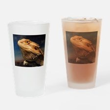 .young bearded dragon. Drinking Glass